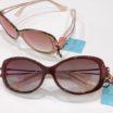 """NEW 女性のための新しいサングラス、""""鼻に跡がつかないサングラス choco sun入荷"""